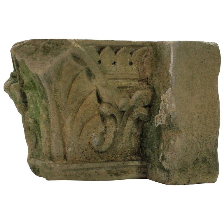 16th Century Architectural Stone Fragment For Sale