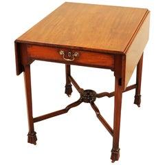 Georgian Mahogany 18th Century Pembroke Table