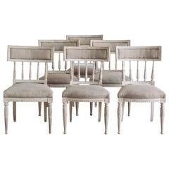 19th Century Gustavian Dining Chairs