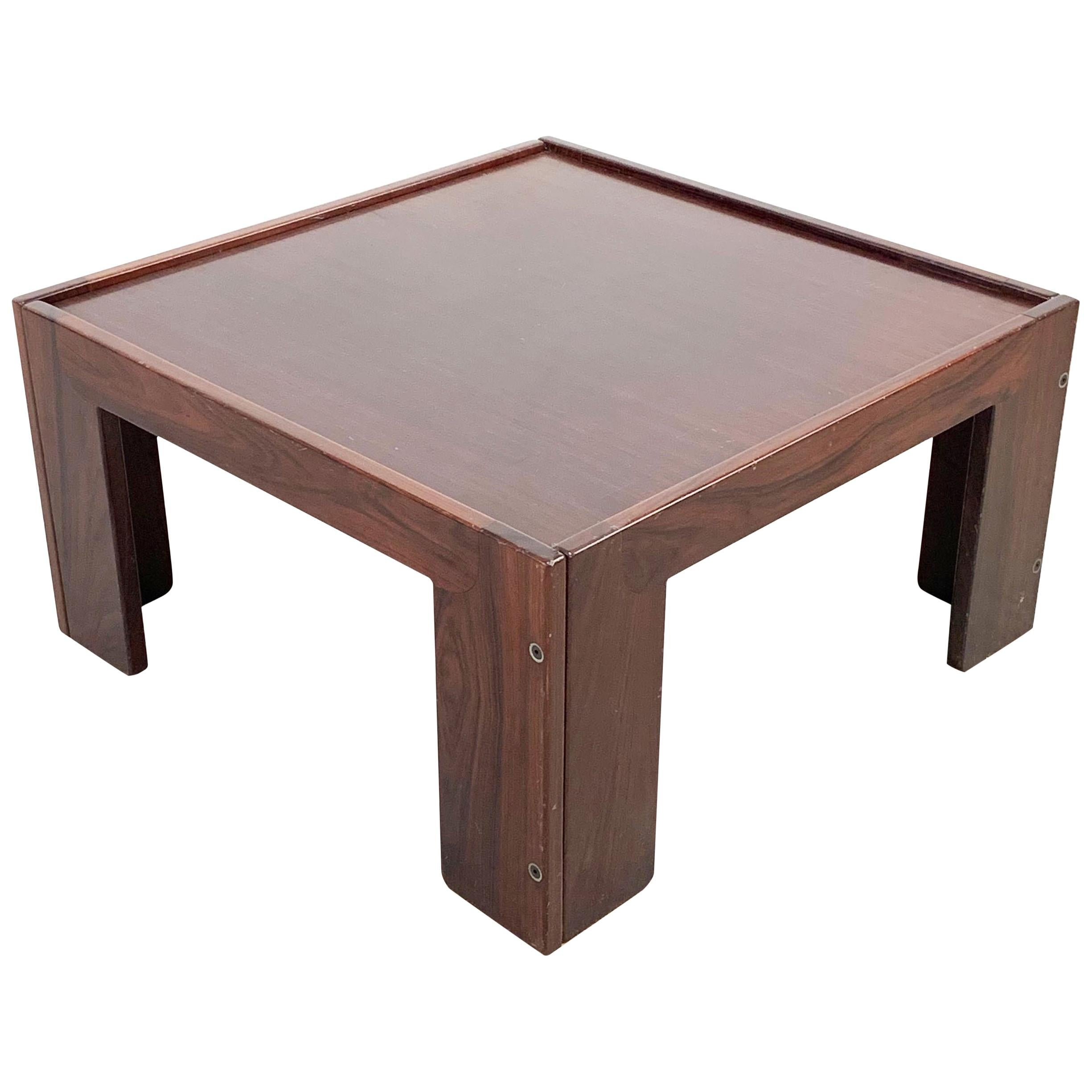 Afra and Tobia Scarpa, Square Table, for Cassina, Italy, 1970s