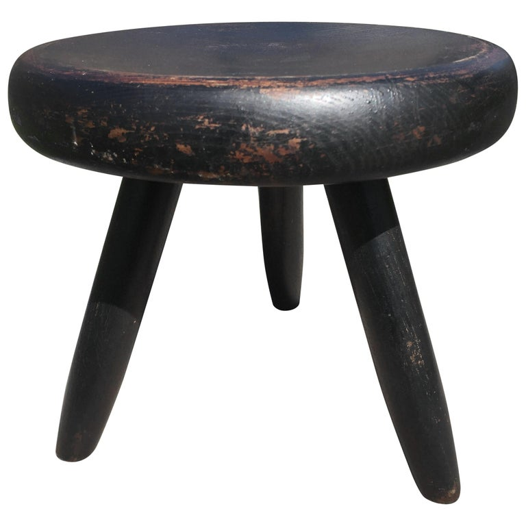 Charlotte Perriand's Berger Stool For Sale