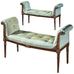 Pair of George III Window Seats