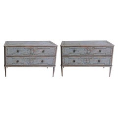 Gustavian Commodes and Chests of Drawers