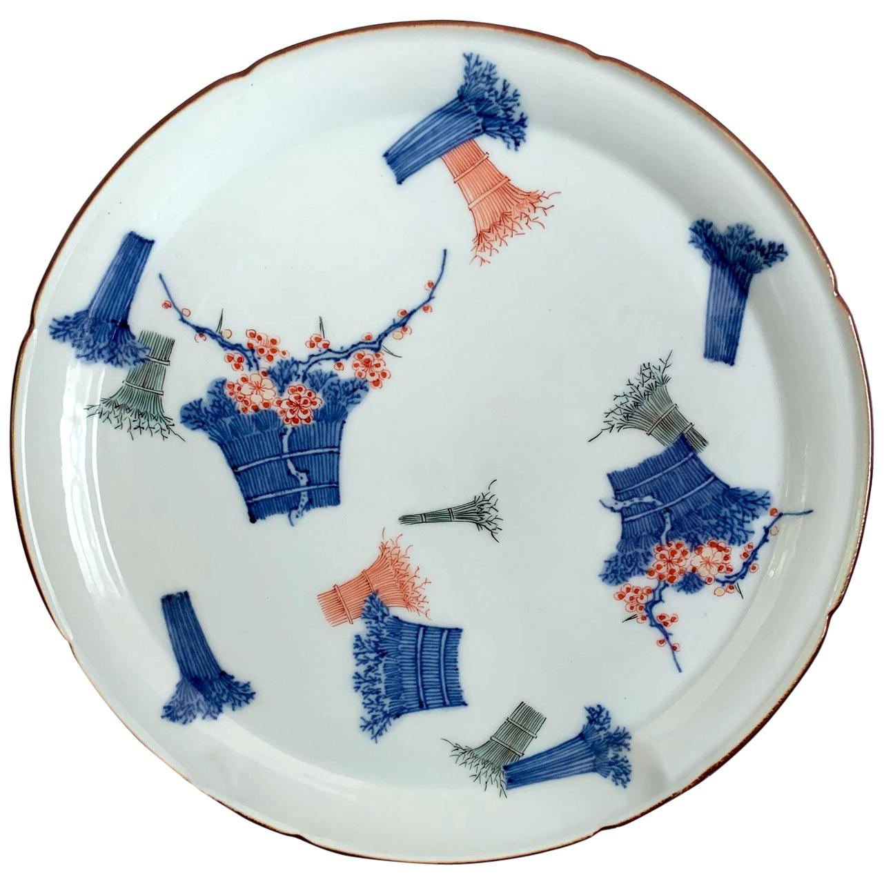 Japanese Antique Kakiemon Plate from Arita