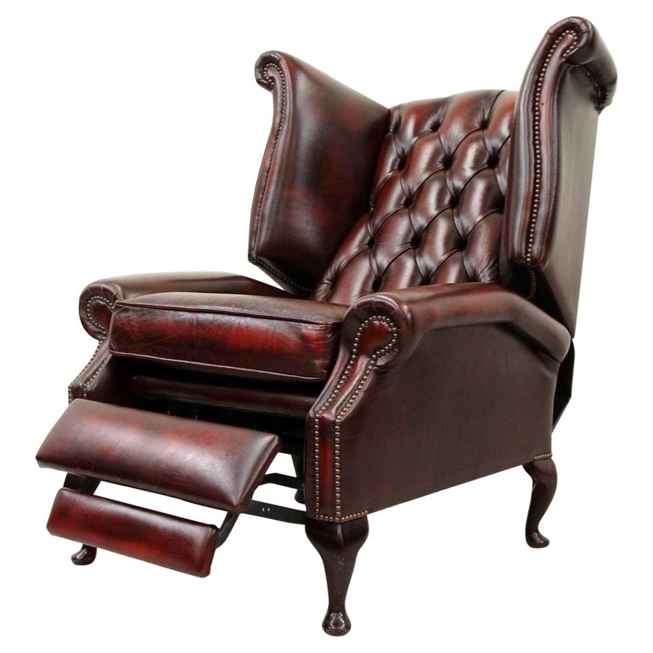 Superbe Chesterfield TV Armchair Wing Chair TV Chair Antique Chair