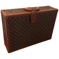 Vintage Louis Vuitton Hard Suitcase, 1920s