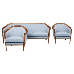 1960s Swedish Teak 3-Piece Suite by Broderna Andersson