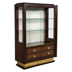 French Art Deco Display Cabinet Bar