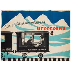 Spellbound Original Polish Film Poster, Andrzej Heidrich, 1959