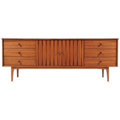 Midcentury Inlaid Rosewood-Sculpted-Dresser-by-Lane