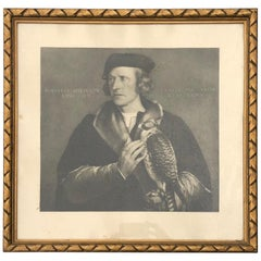 Robert Cheseman Chief Falconer to Henry VIII, Print