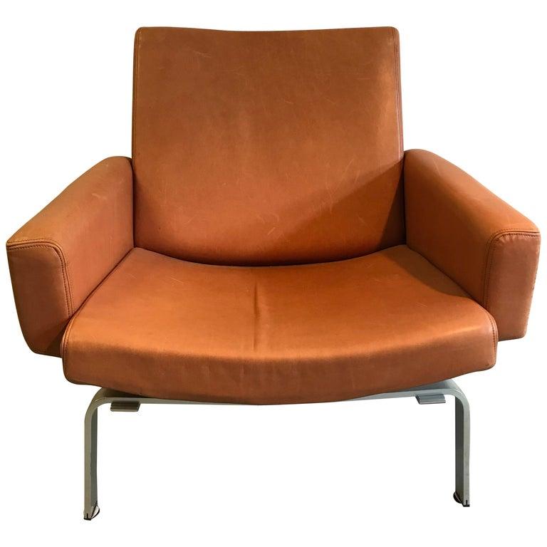 Rare Jorgen Hoj Lounge Chair Vitsoe Design For Sale