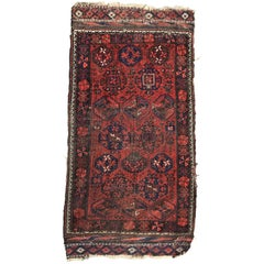 Antique Turkmen Baluch Rug