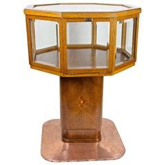 Art Nouveau Vitrine Table/ Display Table, Austria circa 1900