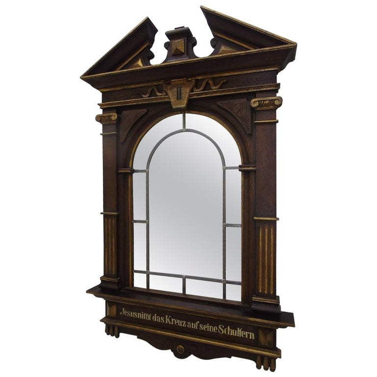 1870s Sacral Way of the Cross Window from Germany For Sale