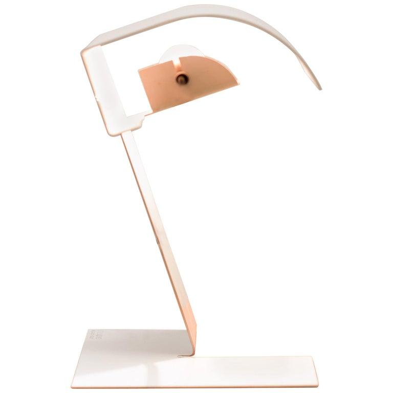 """Stilnovo """"Blitz"""" Metal Table Lamp For Sale"""