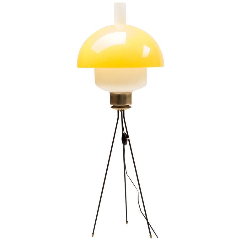 Italian Tripod Floor Light For Sale