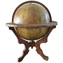 H. Schedler's Celestial Globe '12 Inches Diameter', Patented November 1868