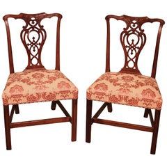 Set of Mid-18th Century Chippendale Mahogany Side Chairs