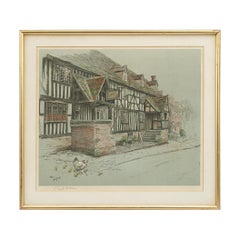 Old English Inns by Cecil Aldin, the Talbot Inn, Signed in Pencil, circa 1921