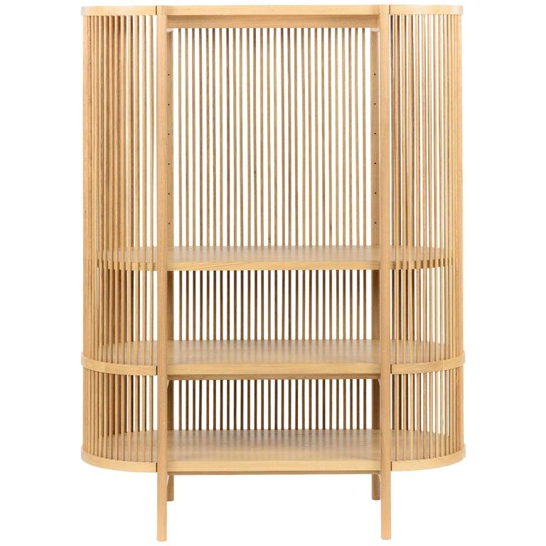 Bastone Cabinet in Oak For Sale