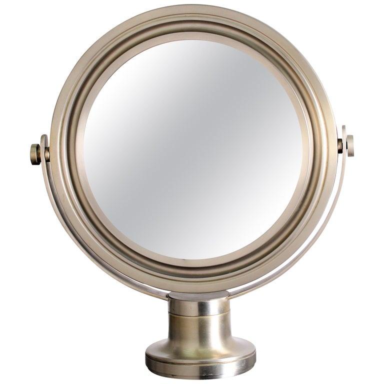 Sergio Mazza for Artemide 1960s Modern Design Table Mirror For Sale