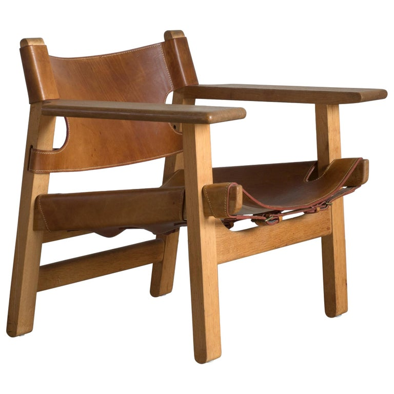 Børge Mogensen Spanish Chair for Fredericia Furniture For Sale