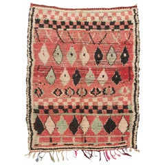 Vintage Moroccan Boujaad Berber Rug