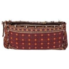 Early 20th Century Uzbekistan Cradle, Textile
