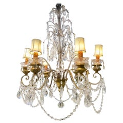 A Pair Of Florentine Italian Chandeliers