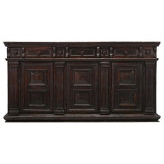 Northern Italian Buffet or Credenza from the 1600s