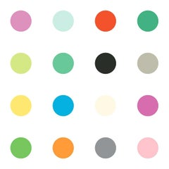 Dots Multi-Color on Smooth Wallpaper