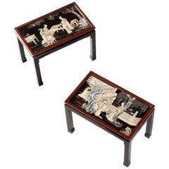 Chinese End Tables
