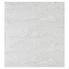 Schumacher Cloud Toile Wallpaper in Quartz, Two-Roll Set