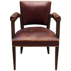 Fine French Art Deco Desk Chair