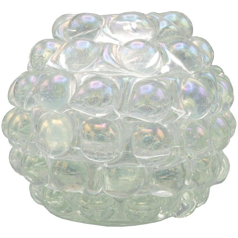 'Lenti' Italian Art Glass Vase by Ercole Barovier For Sale