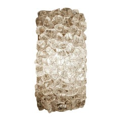 Recycled Glass Sconce