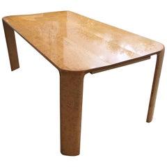 Custom Burled Maple Dining Table