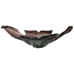 Midcentury Italian Murano Glass Centerpiece