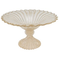 Murano Glass Compote