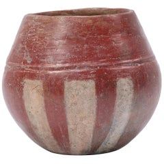 Petite Pre-Columbian Striped Chupícuaro Vessel
