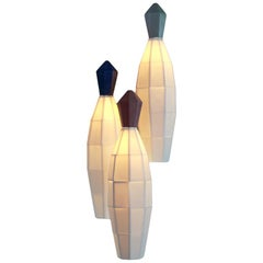 Chrysalis Modern Hanging Pendant Cluster in Translucent Luxury Porcelain