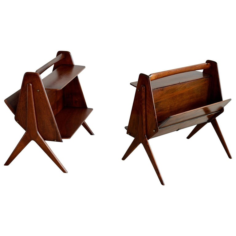 Ico Parisi attributed Side Tables For Sale