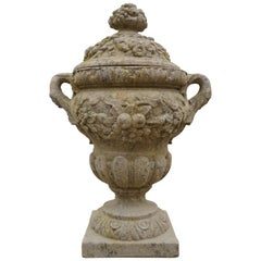 Pot a Feu French Urn with Lid