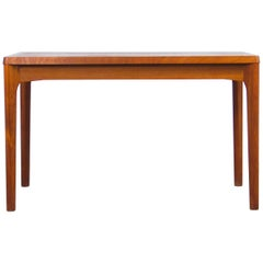 Vintage Danish Extendable Teak Dining Table by Henning Kjærnulf, 1960s