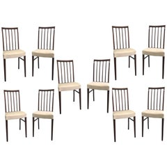 20th Century Rosewood Chairs by Ole Wanscher