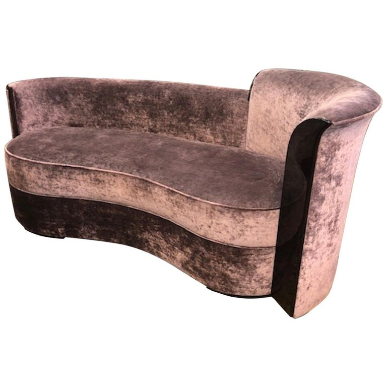 French Art Deco Sofa For Sale