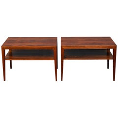 Scandinavian Side Tables or Nightstands by Severin Hansen
