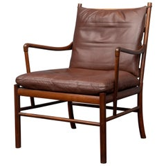 Ole Wanscher Colonial Chair in Rosewood
