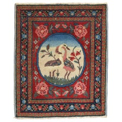 Persian Pictorial Swan Mat